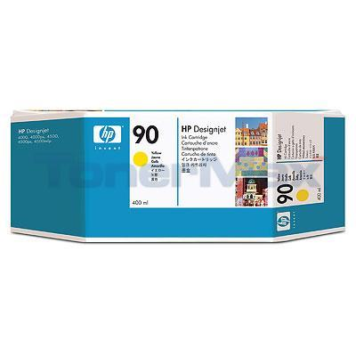 HP DESIGNJET 4000 NO 90 INK YELLOW 400ML